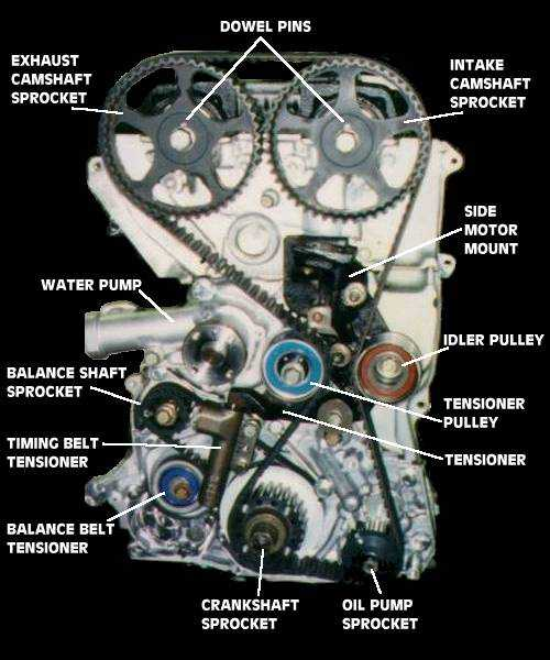 [Timing Belt Layout]